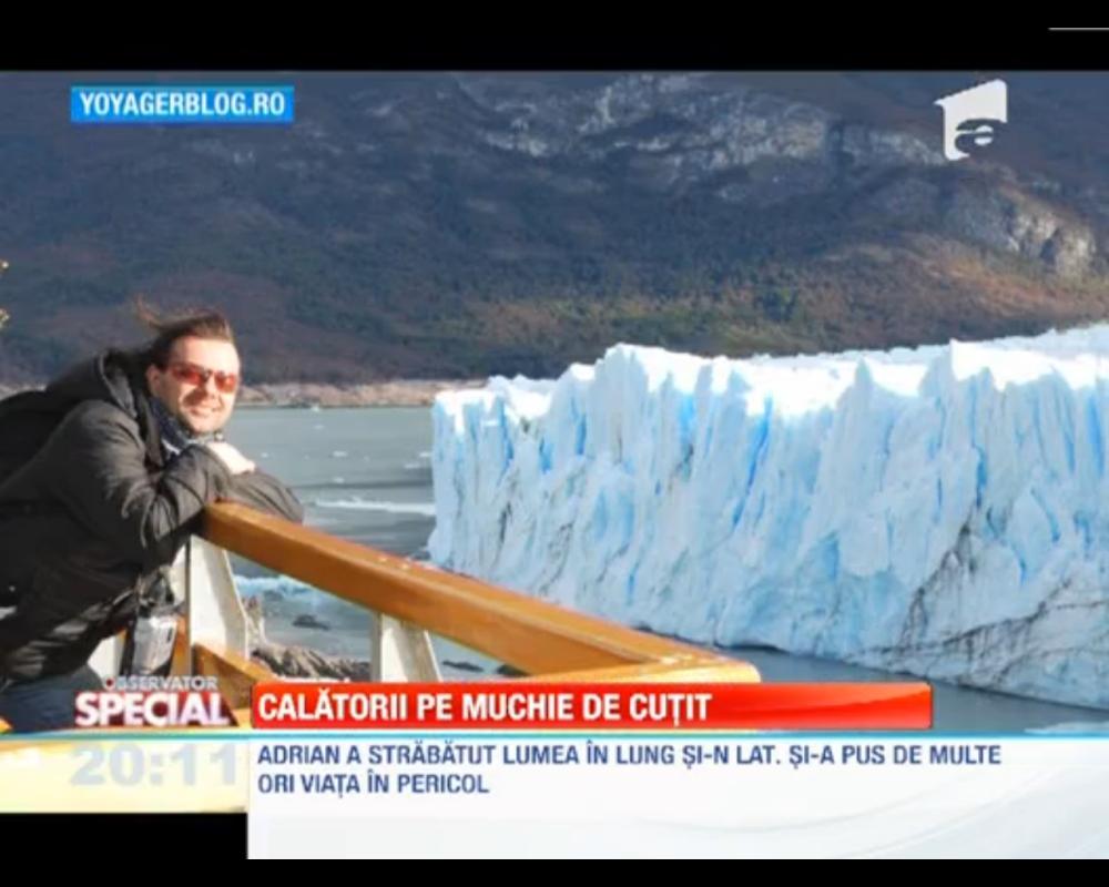 Adrian Tărăcilă despre călătoriile sale, la Observatorul Special al Antenei 1 (2/4)