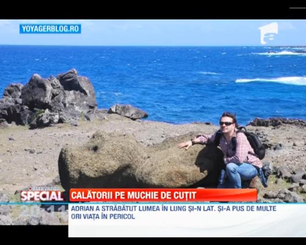 Adrian Tărăcilă despre călătoriile sale, la Observatorul Special al Antenei 1 (4/4)